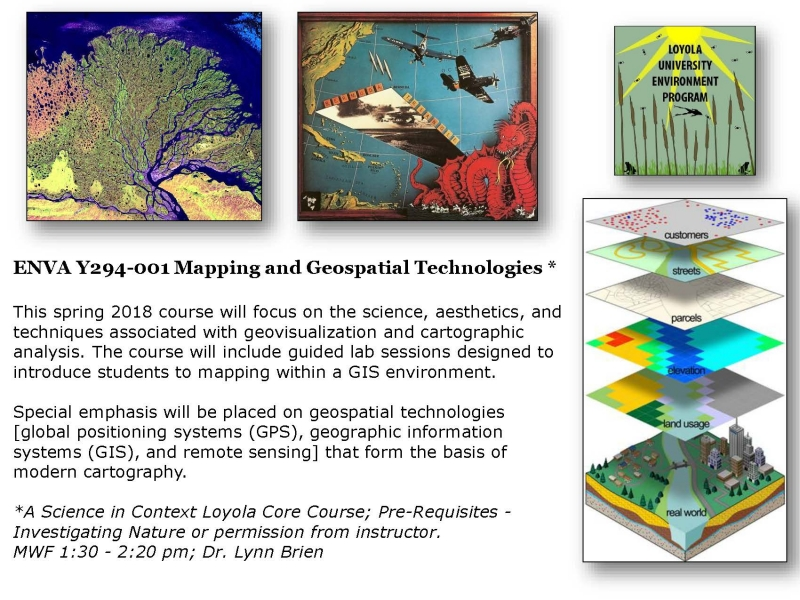 Mapping and Geospatial Technologies | College of Arts and