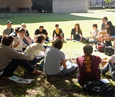 Loyola University New Orleans students